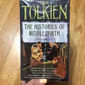 JRR Tolkien's Histories of Middle Earth Box Set